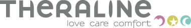 Theraline love care comfort Logo
